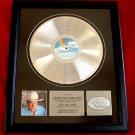 "GEORGE STRAIT PLATINUM RECORD AWARD ""SOMETHING SPECIAL"""