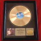 "GEORGE STRAIT GOLD RECORD AWARD ""#7"" - VINTAGE"
