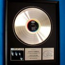 THE BEATLES PLATINUM RECORD AWARD - PRESENTED TO: GEORGE HARRISON