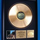 """THE BEATLES GOLD RECORD AWARD """"ABBEY ROAD"""" - TO: HARD ROCK CAFE"""