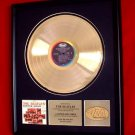 """THE BEATLES GOLD RECORD AWARD """"2nd ALBUM"""" - TO: THE BEATLES"""