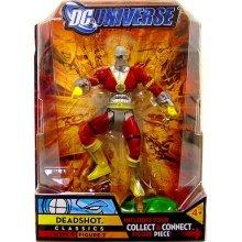 DC Universe Classics Series 9 Action Figure Deadshot Build Chemo Piece New 2010 MOC MIB