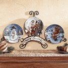 Christmas Plate Display Set