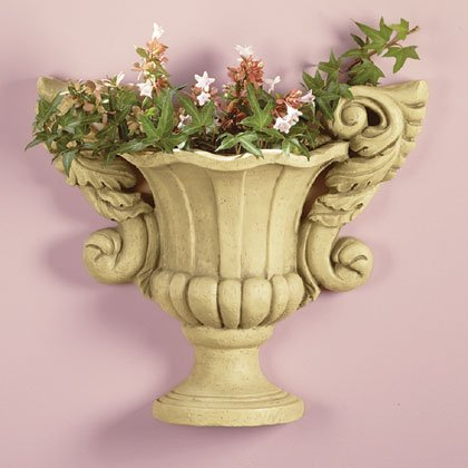 Urn Shaped Wall Planter
