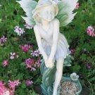 Fairy Sculpture and Bird Feeder