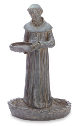 St.Francis Bird Bath Feeder