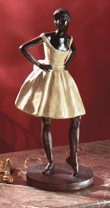 Degas-Style Ballerina Statue
