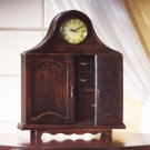 Wood Mantel Clock