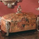 Antique-Look Rose Design Decorative Treasure Box.