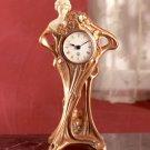 Art Nouveau Style Clock.