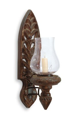 Hurricane Lamp Wall Scone,