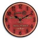 Hotel du Monde  wall clock