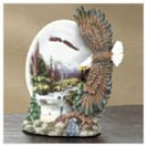MOUNTAIN EAGLE VOTIVE HOLDER