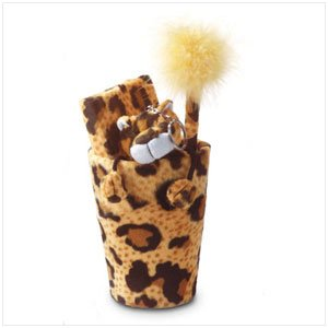 PLUSH LEOPARD STATIONARY KIT