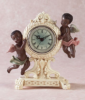 ANTIQUE CHERUB CLOCK