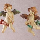FLOATING CHERUB WALL PLAQUES