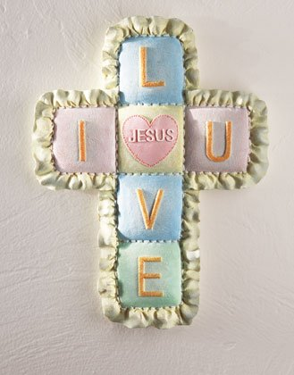 BABY QUILT WALL CROSS