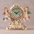 CHERUB TABLE CLOCK
