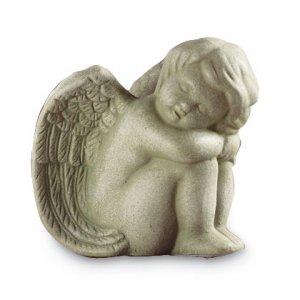 SLEEPING ANGEL STATUETTE