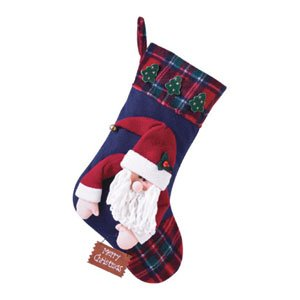 PLUSH STOCKING SANTA