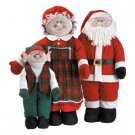 SOFT-SCULPTURE SANTA FAMILY