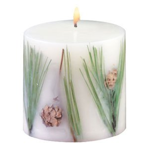 PINE SCENTED PILLAR CANDLE