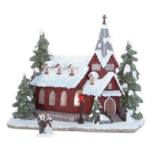 HOLIDAY CHURCH AGLOW