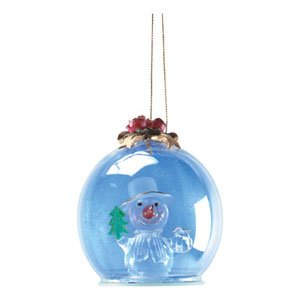 HOLLY-JOLLY SNOWMAN ORNAMENT