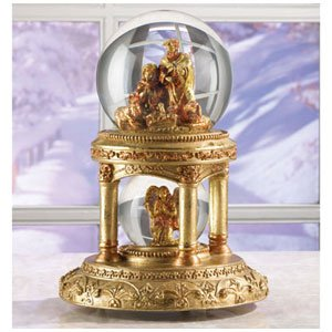 GOLDEN PALACE SNOW GLOBE