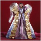FIBER OPTIC PURPLE ANGEL TREE TOPPER