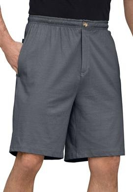 Men's Size 42 44 XL Long Tall Basic Lounge Shorts heather charcoal