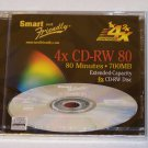 Smart and Friendly CD-RW 4X 700MB 80min - 1 Pack In Case
