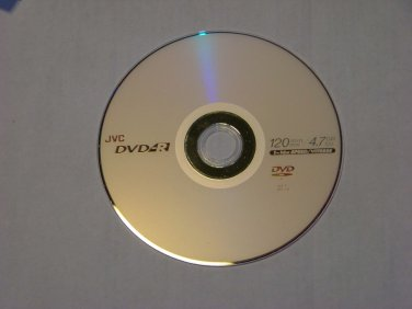 5 Pack JVC 16X DVD-R DVDR Blank Media Disc 4.7GB