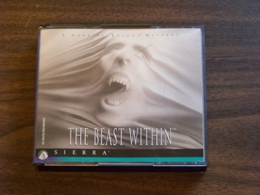 THE BEAST WITHIN GABRIEL KNIGHT MYSTERY SIERRA PC GAME