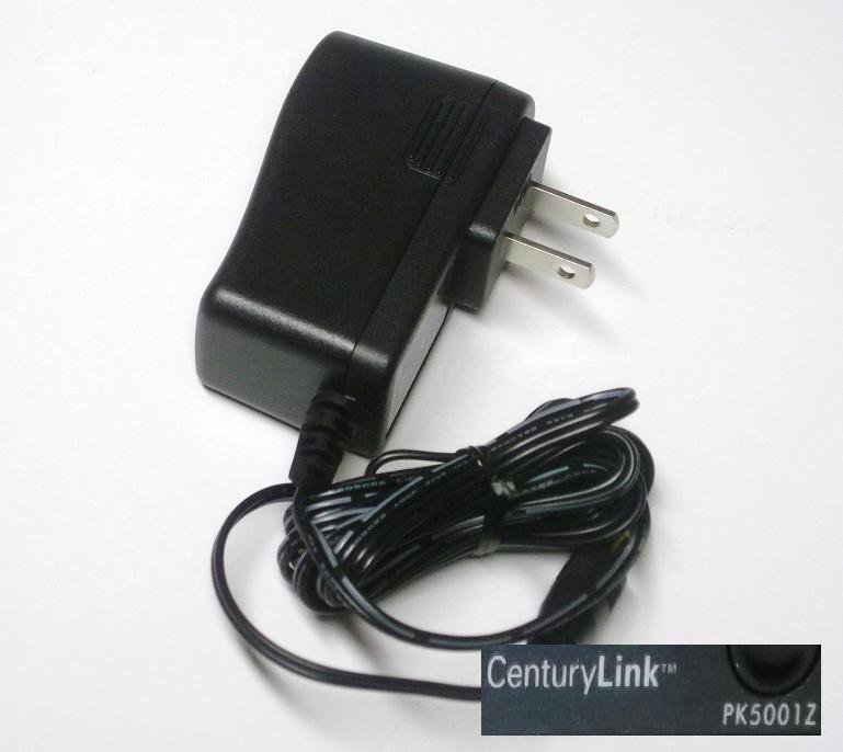 AC Adapter Power Supply Cord Plug For CenturyLink ZyXEL PK5001Z Wireless Modem Router