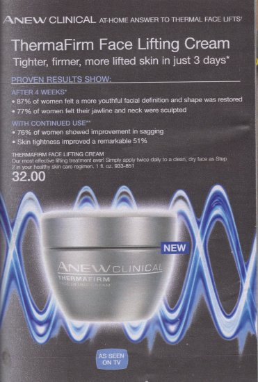Anew Clinical Thermafirm Face Lifting Cream