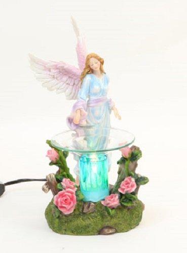 "NEW Magnificent Flower Angel Oil & Tart Warmer 8"""