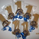 CHOCOLATE #1 FOOTBALL BIRTHDAY PARTY FAVORS (1DZ)