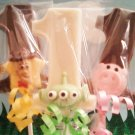 TOY STORY CHOCOLATE BIRTHDAY LOLLIPOPS (any number or letter)