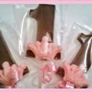 Princess First birthday chocolate lollipop party favors (1dz)