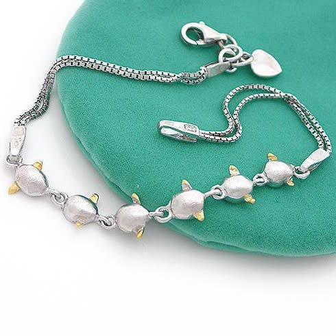 Little Flying Angel Silver (925 Sterling) Bracelet