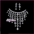 Starry Sky Crystal Jewelry Set, Sets