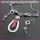 Sublimate Amethyst Jewelry Set, Sets