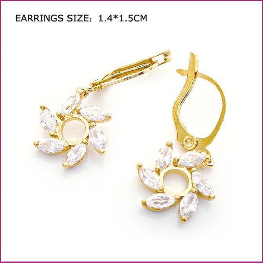 Crystal Windmill Pierced Earrings, Pierced earrings, Earrings