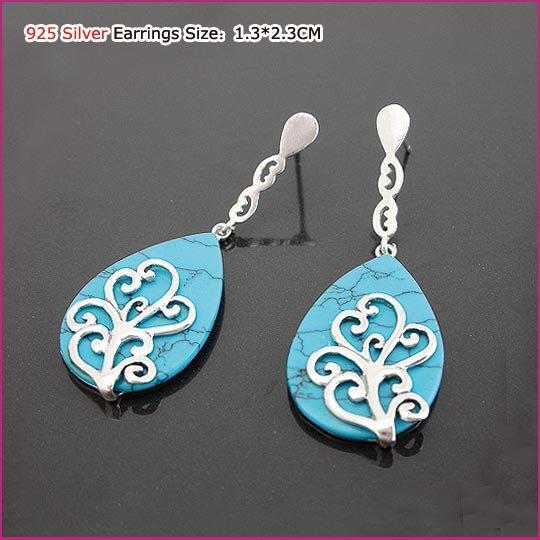 Fahsion Style Silver (925 Sterling) Earring, Earrings, Sterling Silver