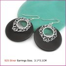 Silver (925 Sterling) Earring, Earrings, Sterling Silver