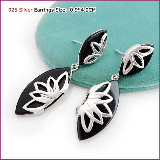 Lily Silver (925 Sterling) Earring, Earrings, Sterling Silver