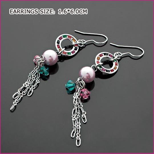 Fashion Pearl Pierced Earrings, Pierced earrings, Earrings