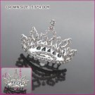 Romantic Zircon Bride Crown, Tiaras