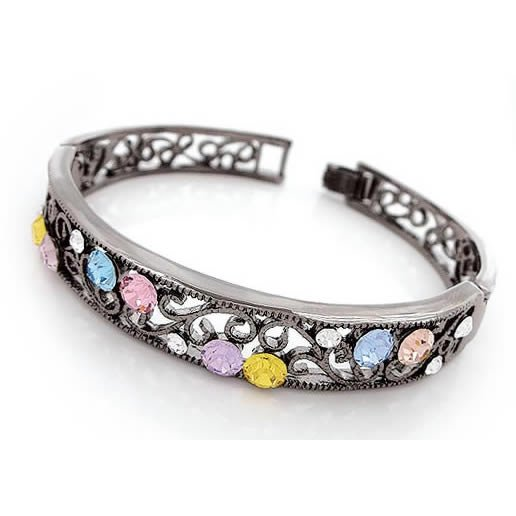 Classic Crystal Bangle, Bangles